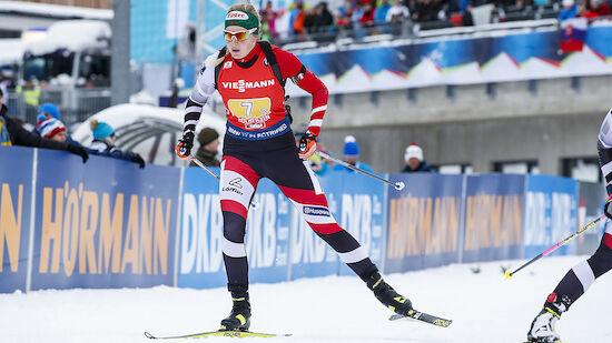 Lisa Hauser sprintet bei Heim-Rennen in Top 10