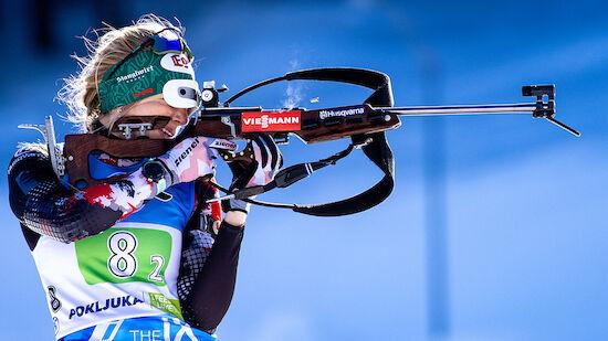 Biathlon-WM: ÖSV-Damen sprinten zu Rang sieben