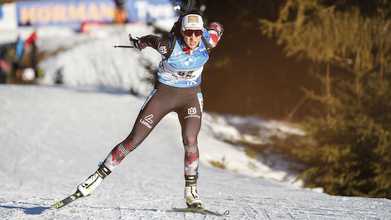ÖSV-Mixed-Staffel in Nove Mesto auf Platz acht