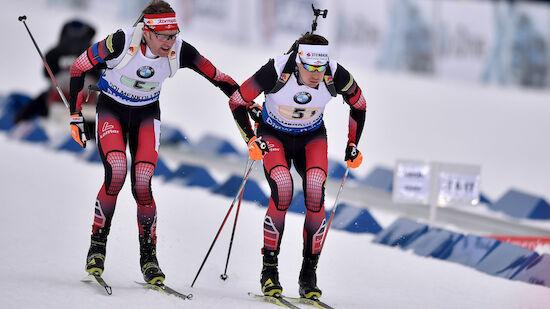 Eberhard führt Biathlon-Staffel aufs Podest