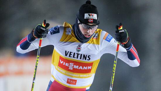 Riiber setzt Siegeszug in Lillehammer fort