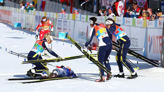 Schwedinnen holen sensationell Staffel-Gold