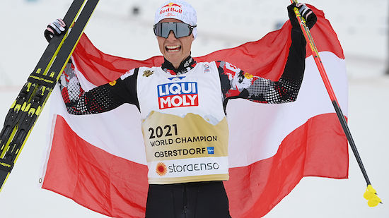 WM-GOLD für Kombinierer Johannes Lamparter