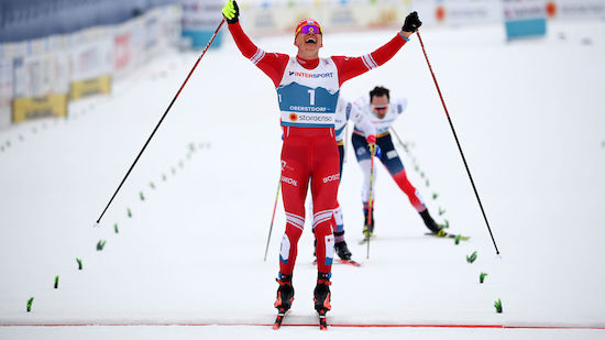 Gold-Premiere für Bolshunov im WM-Skiathlon