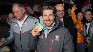 Pics: Hirscher holt sich Gold ab