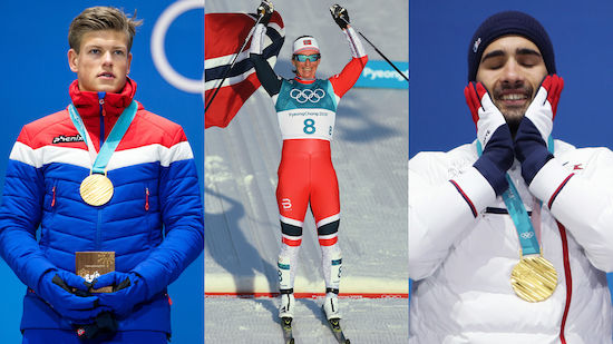 Olympia 2018 - Erfolgreichste Athleten