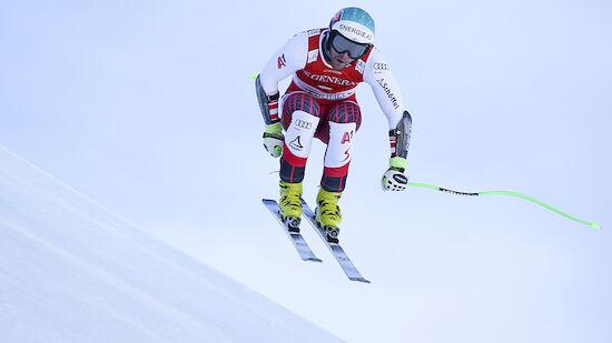ÖSV-Abfahrer beim Training in Garmisch stark