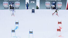 Vier ÖSV-Läuferinnen im PGS-Finale