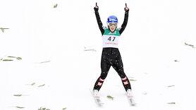 ÖSV-Springerinnen feiern ersten Doppelsieg
