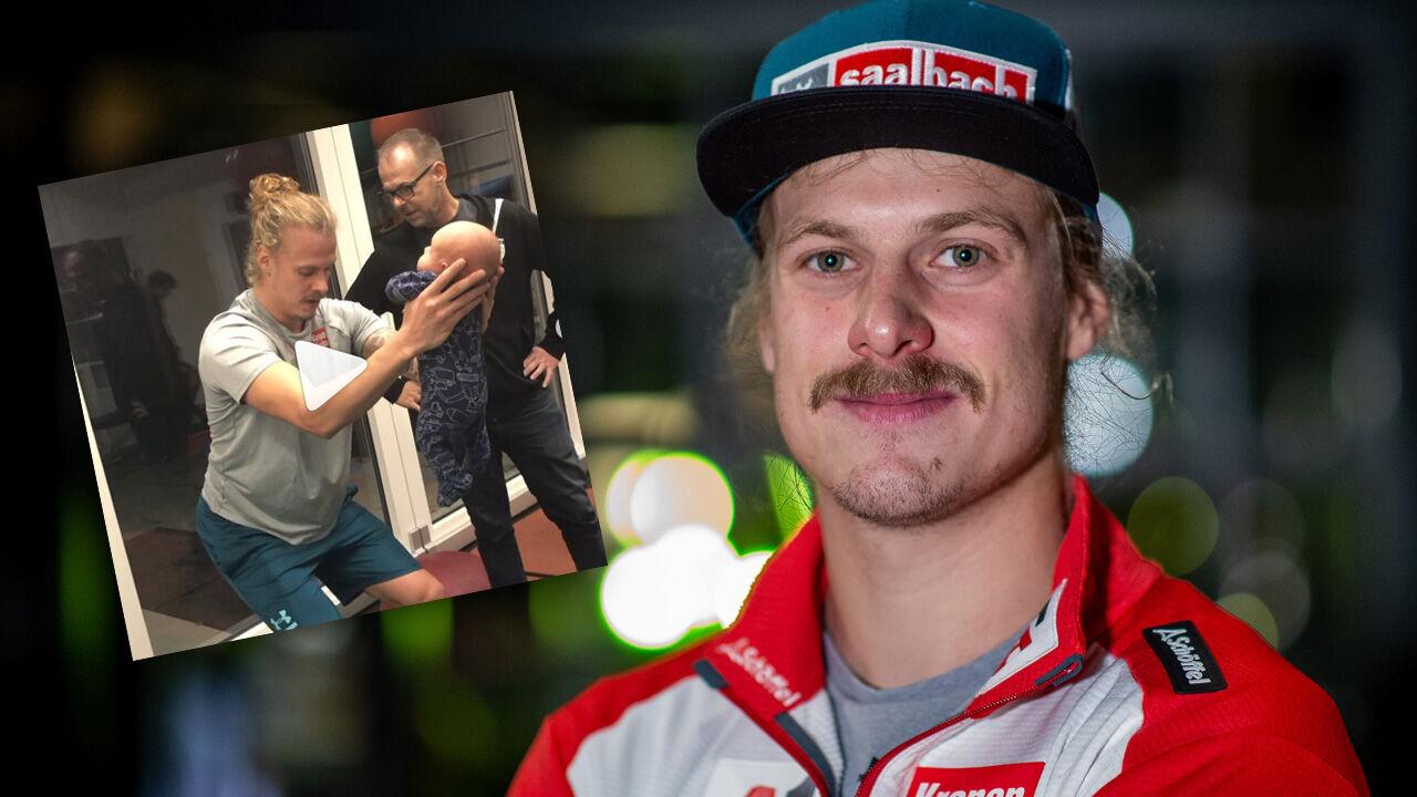 Kritik An Baby Video Manuel Feller Antwortet Kritikern Wintersport Ski Alpin Weltcup Herren