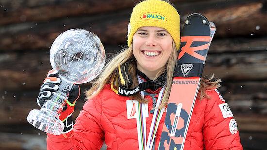 Liensberger fährt weiter mit Rossignol-Ski