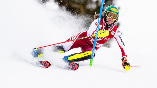 So gewinnt Liensberger Slalom-Kristall