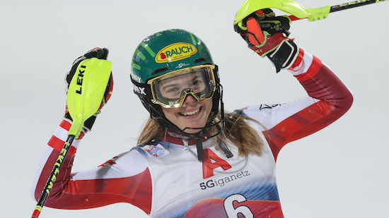 Sieg bei Finale! Liensberger holt die Slalom-Kugel