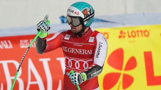 ÖSV-Doppel-Sieg beim Super-G in Garmisch