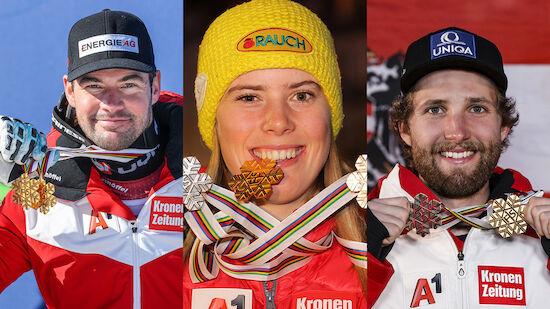 Medaillenspiegel Ski-WM 2021: ÖSV die Nummer 1