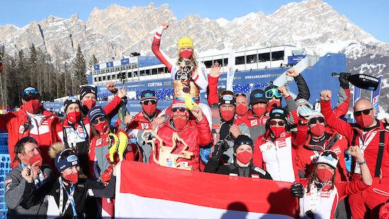 Liensberger: Nummer 1 bei Ski-WM 2021
