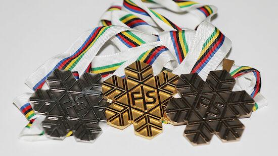 Medaillenspiegel: Snowboard-WM