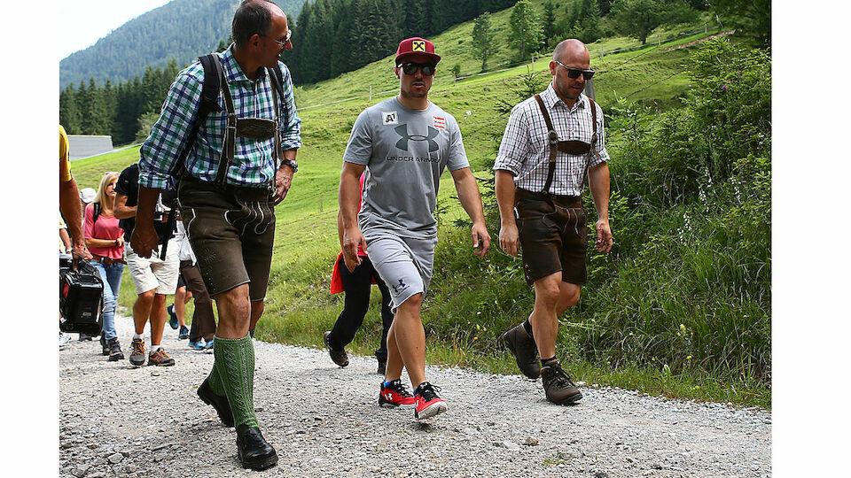 Wandern mit Marcel Hirscher - die besten Bilder