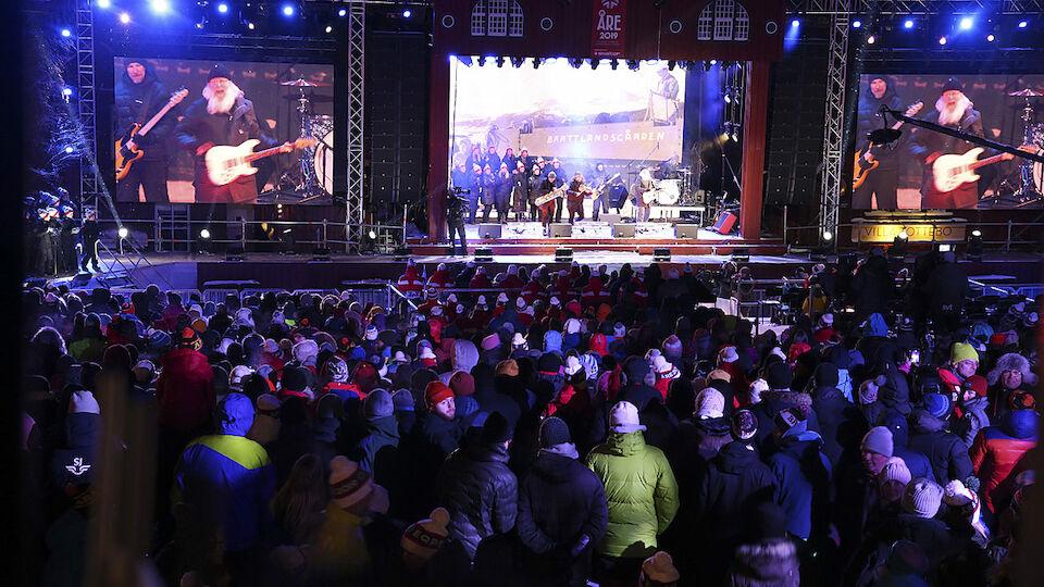 Bilder von der Eröffnung der Ski-WM in Aare