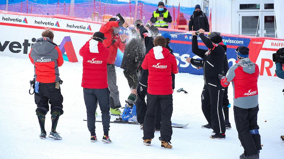 Hannes Reichelt: Abschiedsfahrt in der Lederhose - die Bilder