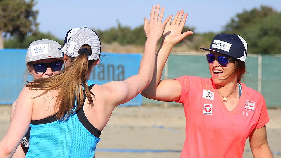 ÖSV-Damen in Zypern: Die besten Bilder