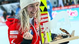Chiara Hölzl segelt zu erstem Weltcupsieg
