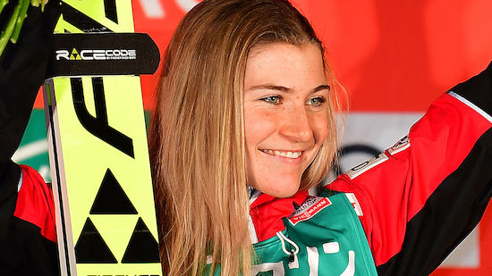 Marita Kramer feiert 5. Weltcupsieg