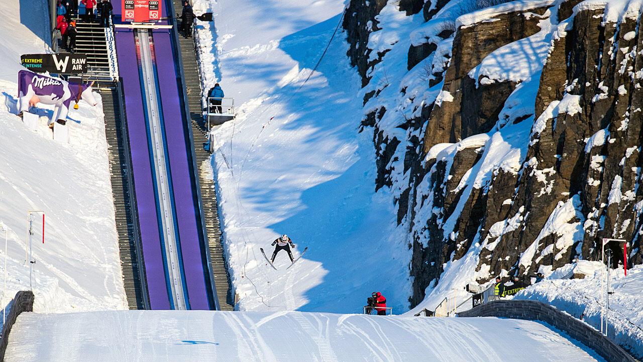 Skispringen Vikersund 2021
