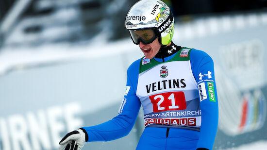 Ex-Gesamtweltcupsieger Prevc corona-positiv