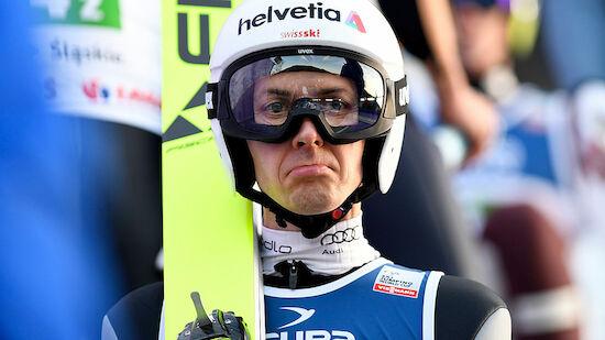 Ammann springt im Continental Cup in Innsbruck
