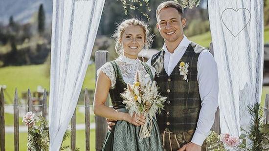 Chiara Hölzl hat geheiratet