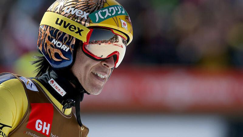 Karriere-Ende? Das denkt Skisprung-Dino Kasai