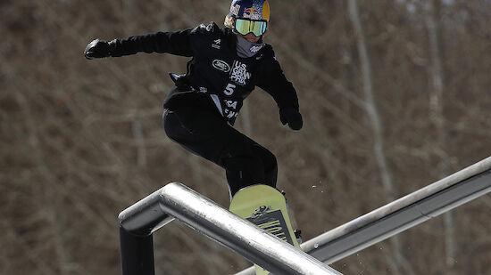 Seltener Slopestyle-Sieg für Anna Gasser in Aspen