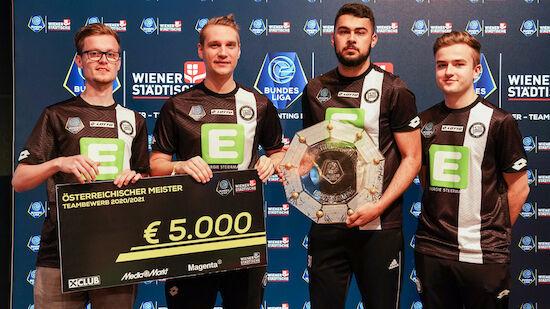 Sturm Graz ist eBundesliga-Meister